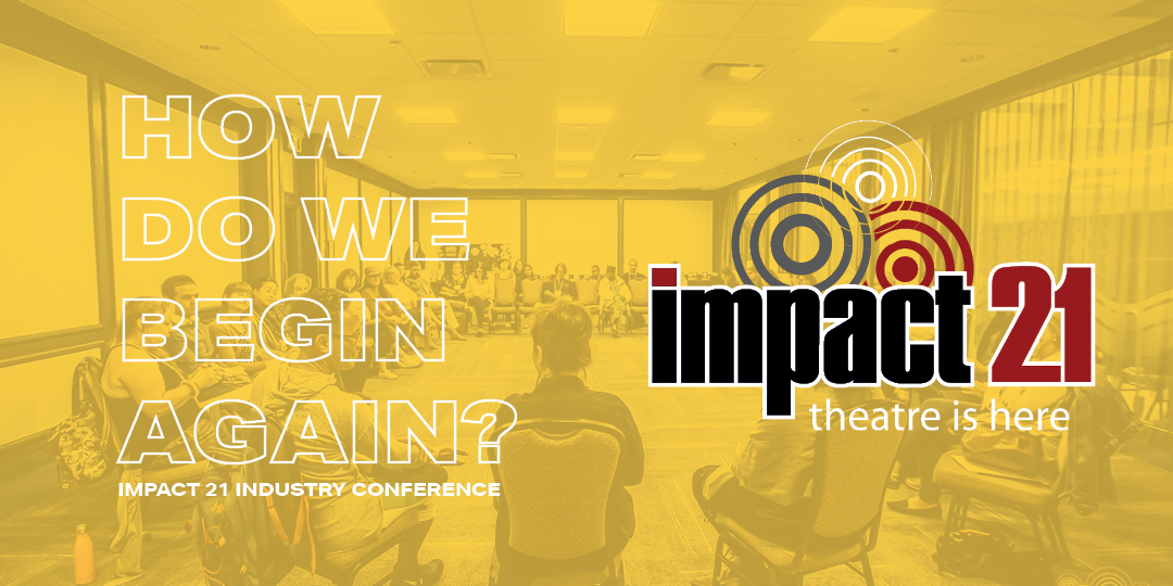 IMPACT 21 Conference Yellow Banner