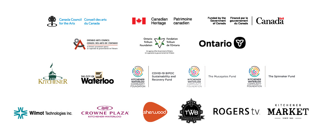 Sponsor Logos for MT Space's IMPACT 21 International Theatre Festival