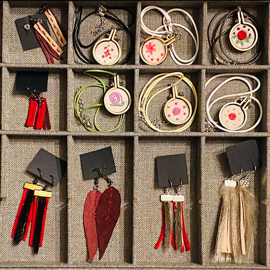 Earrings and Pendants by Shantell Powell