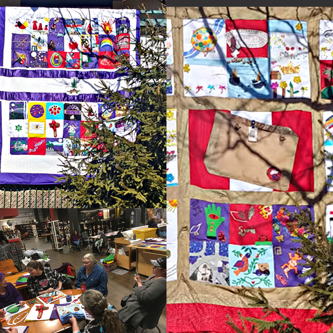 NEIGHBOURS Quilt Collage